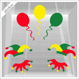 carnavalsticker mestreech ballon steek